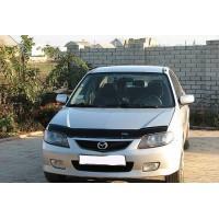 Дефлектор капота (VIP) для Mazda 323