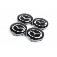 Колпачки в титановые диски 65мм (4 шт) для Mazda CX-3 2015+