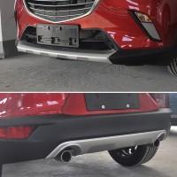 Передняя и задняя накладки для Mazda CX-3 2015+
