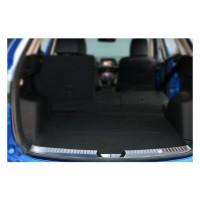 Mazda CX-5 2012-2017 гг. Накладка на задний порог (нерж.)
