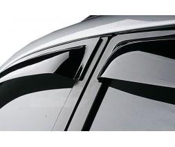 Mazda CX-9 2007-2016 гг. Ветровики (4шт, SIM)