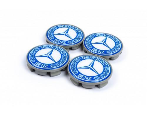 Колпачки в титановые диски 65мм (4 шт) для Mercedes A-сlass W169 2004-2012