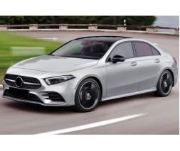 Mercedes A-сlass W177 2018+ гг. Передняя решетка Diamond Silver (с местом под камеру)