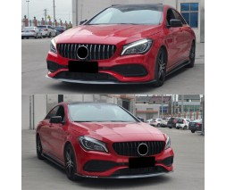 Mercedes A-сlass W177 2018+ гг. Передняя решетка GT (с местом под камеру)