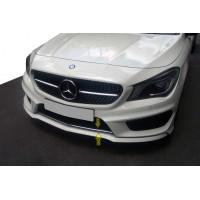 Накладка на решетку бампера (нерж) для Mercedes CLA C117 2013-2019