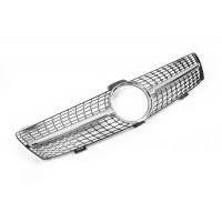 Передняя решетка (2005-2008, Diamond Silver) для Mercedes CLS C219 2004-2010