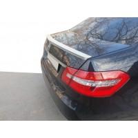 Спойлер (ABS, под покраску) для Mercedes E-сlass W212 2009-2016