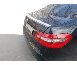 Mercedes E-сlass W212 2009-2016 гг. Спойлер (ABS, под покраску)