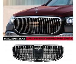 Mercedes GL/GLS сlass X166 Передняя решетка Maybach (для GLS)