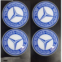 Mercedes GLA X156 2014-2019 гг. Колпачки в титановые диски 65 мм (4 шт)