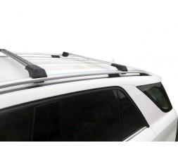 Mercedes GLE/ML klass W166 Перемычки на рейлинги без ключа (2 шт) Серый
