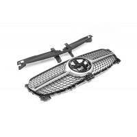 Передняя решетка (Diamond Silver) для Mercedes GLE W167