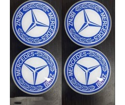 Mercedes S-сlass W140 Колпачки в титановые диски 55 мм (4 шт)