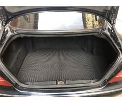 Mercedes S-сlass W220 Коврик багажника (Short, EVA, черный)