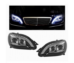 Mercedes S-сlass W220 Передняя оптика LED (2 шт)