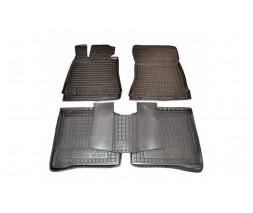Mercedes S-сlass W221 Резиновые коврики с бортом 4 matic long (Autogumm)