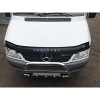 Mercedes Sprinter 1995-2006 Дефлектор капота 2000-2006 (VIP)