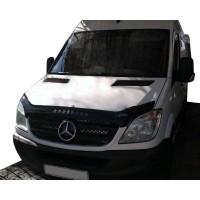 Mercedes Sprinter 2006-2018 Дефлектор капота 2006-2012 (VIP)