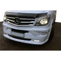 Передний бампер LED без верхних (модель 2013) для Mercedes Sprinter 2006-2018