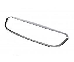 Mercedes Sprinter 2006-2018 гг. Обводка решетки (2006-2013, нерж) OmsaLine - Итальянская нержавейка