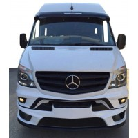 Передний бампер AMG (2013-2021) для Mercedes Sprinter 2006-2018