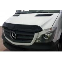 Дефлектор капота 2013-2021 (V2, EuroCap) для Mercedes Sprinter 2006-2018