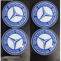 Mercedes Vaneo W414 Колпачки в титановые диски 65мм (4 шт)