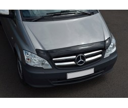 Mercedes Viano 2004-2015 гг. Дефлектор капота (EuroCap)