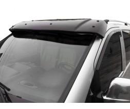 Mercedes Viano 2004-2015 гг. Козырек на лобовое стекло (черный глянец, 5мм)