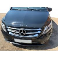 Mercedes Vito / V W447 2014+ Дефлектор капота (VIP)