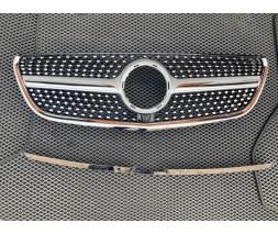 Mercedes Vito / V W447 2014+ гг. Передняя решетка Diamond (для Vito W447)