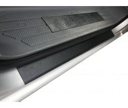 Mercedes Vito / V W447 2014+ гг. Накладки на пороги DDU (2 шт, пластик) Матовые