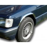Накладки на арки (4 шт, нерж) для Mercedes W201 (190)