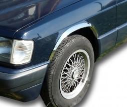Mercedes W201 (190) Накладки на арки (4 шт, нерж)