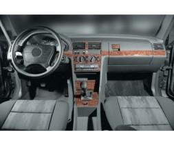 Mercedes W201 (190) Накладки на панель Титан