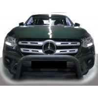 Передняя защита WT005 (нерж, 60мм) для Mercedes X class