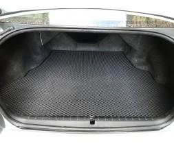 Mitsubishi Galant 2003-2012 гг. Коврик багажника (EVA, полиуретановый, черный)