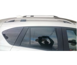 Mitsubishi L200 2015↗ гг. Рейлинги Skyport Grey (2 шт)