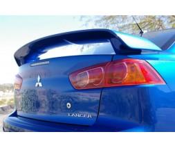 Mitsubishi Lancer X 2008+ гг. Спойлер (под покраску)