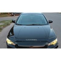 Mitsubishi Lancer X 2008+ Дефлектор капота (VIP)