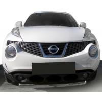 Передняя защита ST008-1 (нерж) для Nissan Juke 2010-2019