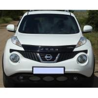 Дефлектор капота (VIP) для Nissan Juke 2010-2019