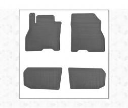 Nissan Leaf 2010-2017 гг. Резиновые коврики (4 шт, Stingray Premium)