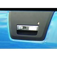Накладка на ручку багажника (нерж) Carmos - Турецкая сталь для Nissan Navara 2006-2015