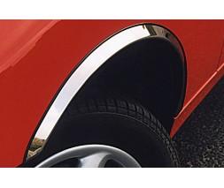 Nissan NV300 2016+ гг. Накладки на арки (4 шт, нерж)