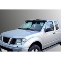 Козырек на лобовое стекло (на раме) для Nissan Pathfinder R51 2005-2014