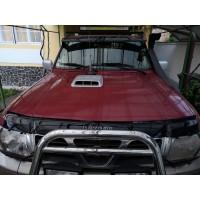 Nissan Patrol Y61 1997-2011 Дефлектор капота (VIP)