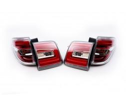 Nissan Patrol Y62 2010+ гг. Задние LED фонари (дизайн 2014)