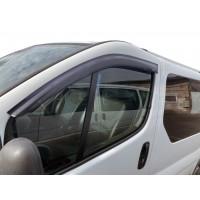 Ветровики (2 шт, HIC) для Nissan Primastar 2002-2014