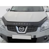 Дефлектор капота VIP для Nissan Qashqai 2007-2010